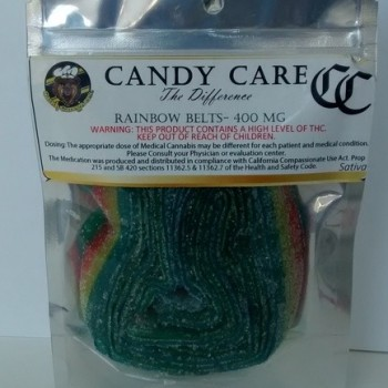 Rainbow Belts Sativa - 400mg - Candy - Candy Care