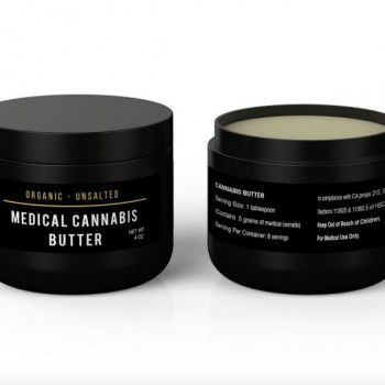 Medical Cannabis Butter - 4 oz - Butter - Holistic Nutrition