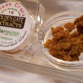 Green Crack Crumble