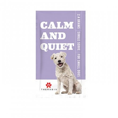 Calm And Quiet - Small Dogs (30 Pack) Logo